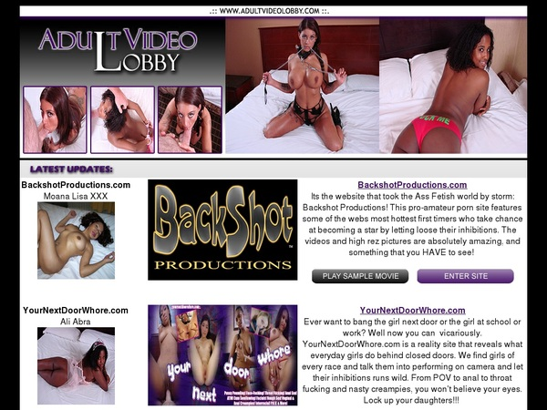 Special Adult Video Lobby Discount Deal