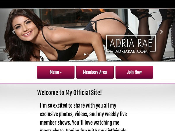 Working Adria Rae Pass