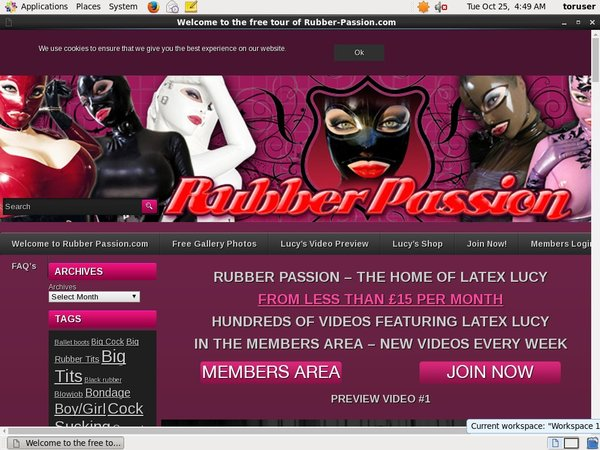 Discount Offer Rubberpassion